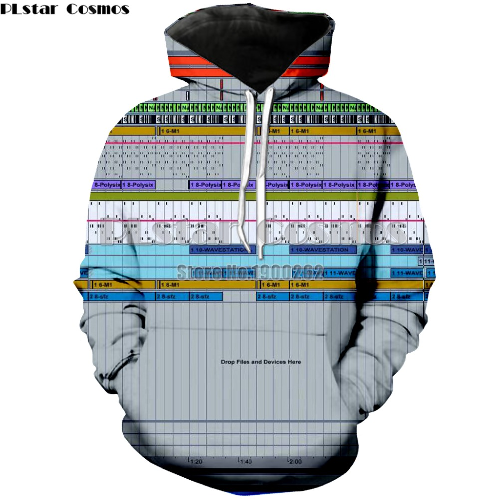 PLstar Cosmos Ableton live Hoodies Sweatshirt Brand Popular Mens/women 3d Print drop shipping