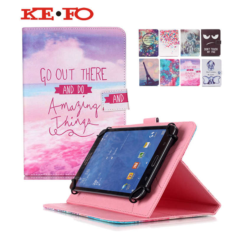Universal tablet cover 10 inch Wallet PU Leather case cover For 10.1 inch Tablet Digma Plane 10.2 3G+Center flim+pen KF553c Price $16.88