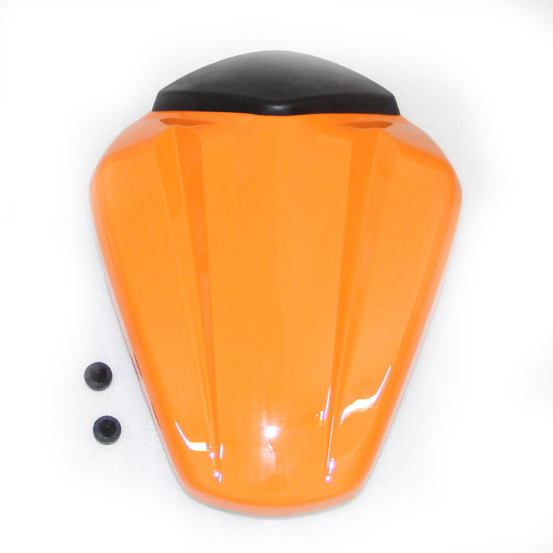 Orange Motorcycle ABS Rear Seat Cover Cowl For KTM Duke 125 250 390 2011-2015 купить