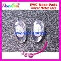 Pv80 óculos almofadas nariz de pvc de 12 mm 14 mm com parafuso núcleo de óculos acessórios