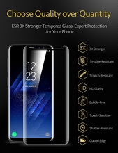 ESR 9H Tempered Glass Film for Samsung Galaxy S9 S9Plus