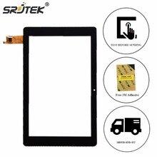 """Srjtek 10.8 """"para de Chuwi HI10 Plus Hola 10 Sensor Panel de Pantalla Táctil de Cristal Digitalizador Tablet PC Reparación de Piezas de Reemplazo Negro"""