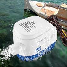 Электрический водяной насос 12/24V 750GPH/1100GPH для погружного Авто Топливный насос с Поплавковый выключатель Морская Лодка приманка для рыбы