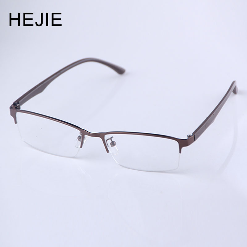 HEJIE Man's Alloy Anti Blue Rays Reading Glasses Anti scratch Lens Diopter 0+0.25+0.5+0.75+1.0+1.25+1.5+1.75+2.0 to +4.0 Y2552-in Men's Reading Glasses from Apparel Accessories