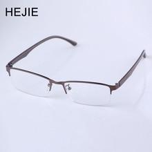 HEJIE człowieka stop Anti niebieski promienie okulary do czytania Anti scratch soczewek dioptrii 0 + 0.25 + 0.5 + 0.75 + 1.0 + 1.25 + 1.5 + 1.75 + 2.0 do + 4.0 Y2552