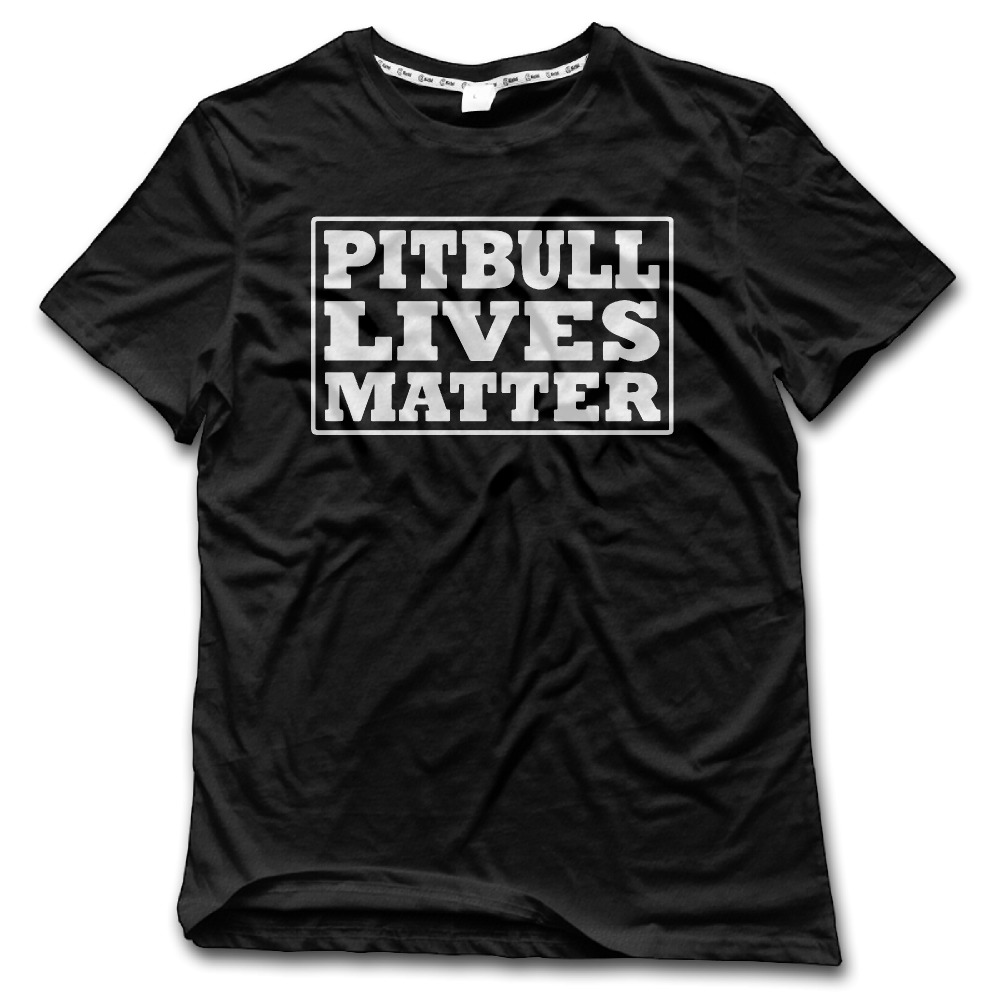 CHI Man t shirt 2017 Pitbull Lives Matter 100% Cotton geek tumblr tshirt men High Quality New Style tee