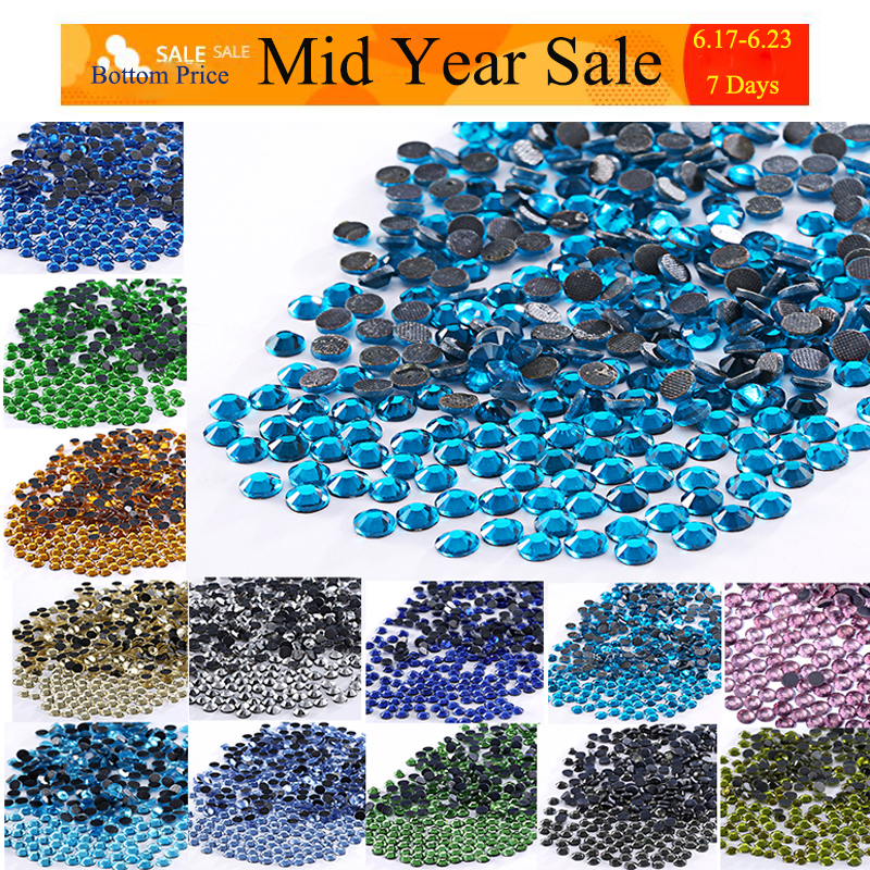 Hot 10PCS 16*30mm AB Drop resin Flatback Mini Faceted Rhinestone 2 hole Buttons