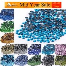 614faece95 Discount 21%) All Size Hot Fix Rhinestones Flatback Crystals Strass ...