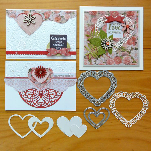 Greeting Cards Scrapbook Craft Dies Scrapbooking Die 3d Stamp Diy