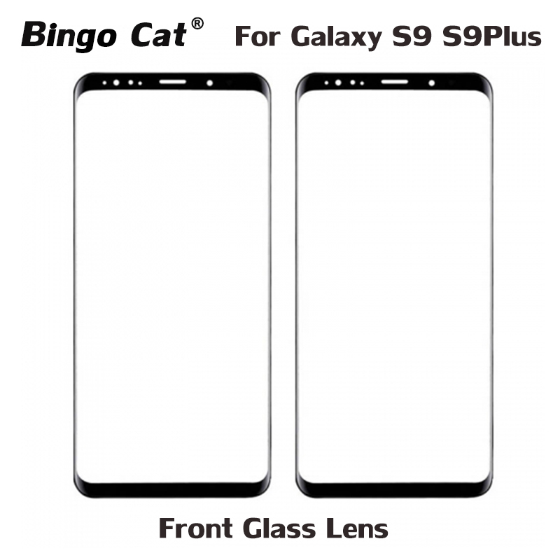 AAA+ New Replacement Front External Glass for <font><b>Samsung</b></font> Galaxy S9 S9 Plus <font><b>Note</b></font> <font><b>8</b></font> 9 <font><b>LCD</b></font> <font><b>Display</b></font> Touch Screen Front Outer Glass Lens image