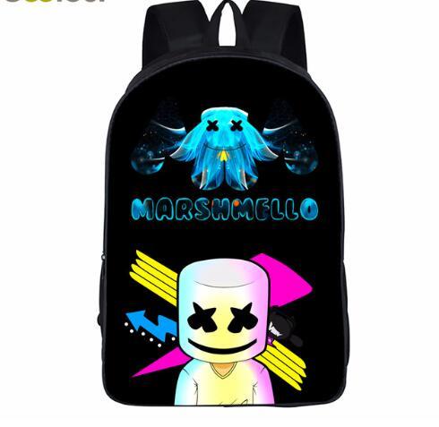 School-Bag-for-Kids-Boy-Girls-Backpack-3D-Marshmello-Printing-Backpack-Female-Schoolbag-School-Supplies-Satchel (1)