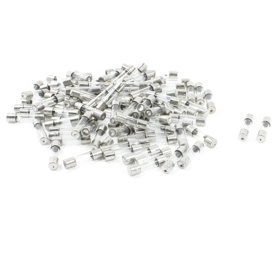 Jfbl 100 Pcs Low Breaking Capacity 5 X 20mm Fast Blow