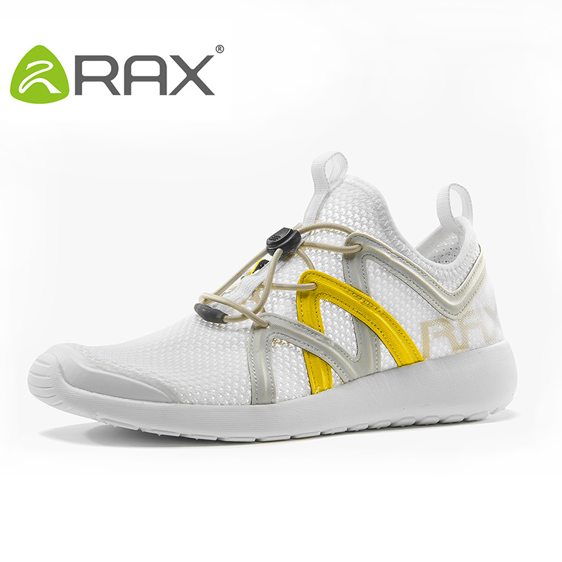 ФОТО RAX New 2017 Women Spring Summer Hiking Shoes Breathable Lightweight Cushioning Mesh Outdoor Sports Shoes Camping Walking Shoes