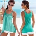 Durable Fashion Women Summer Lace Vest T Shirt Casual Blouse Tank Tops cropped Tank Tops crop top