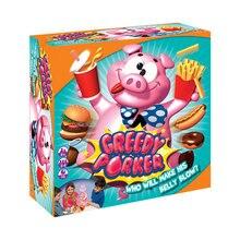 Новинка, креативная, жадная игра-поркер, свинья, настольная игра, взрыв, свинья, весь человек, пародия, игра, Семейная Игрушка