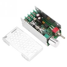 цена на 12-40V DC Brushed Motor Variable Speed Control PWM Controller CWCCW Switch  DC brushed motor speed controller