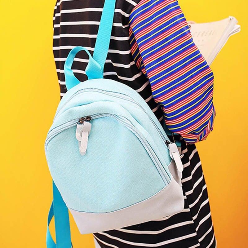 Простые Модные студентов подросток Обувь для девочек путешествия школьная сумка рюкзаки Для женщин рюкзак сумка рюкзак Популярные