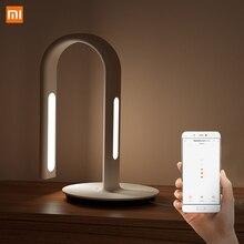 Lampe dorigine Xiaomi Mijia 2 Xiao Mi Eyecare contrôle dapplication double Source de lumière lampe de bureau intelligente Xiomi Mi Home Mi Store blanc
