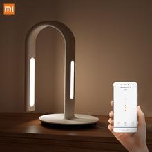 Orijinal Xiaomi Mijia lamba 2 Xiao Mi Eyecare App kontrolü çift ışık kaynağı akıllı masa lambası Xiaomi Mi ev Mi mağaza beyaz