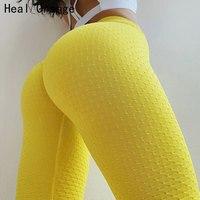 Heal Orange Sexy Push Up Pantalon Yoga Pants Women Leggings For Girls Sport Women Fitness Leggings Women'S Sports Pants Kleding