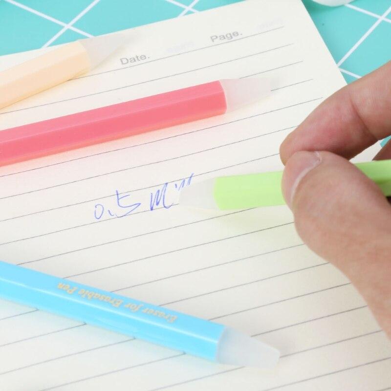 Трения Ручка Ластик Гель Чернила Специальные Резиновые Смывка Эффективно Чище Студентов