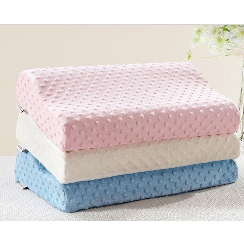 memory foam pillow care orthopedic latex neck pillow fiber slow rebound cervical