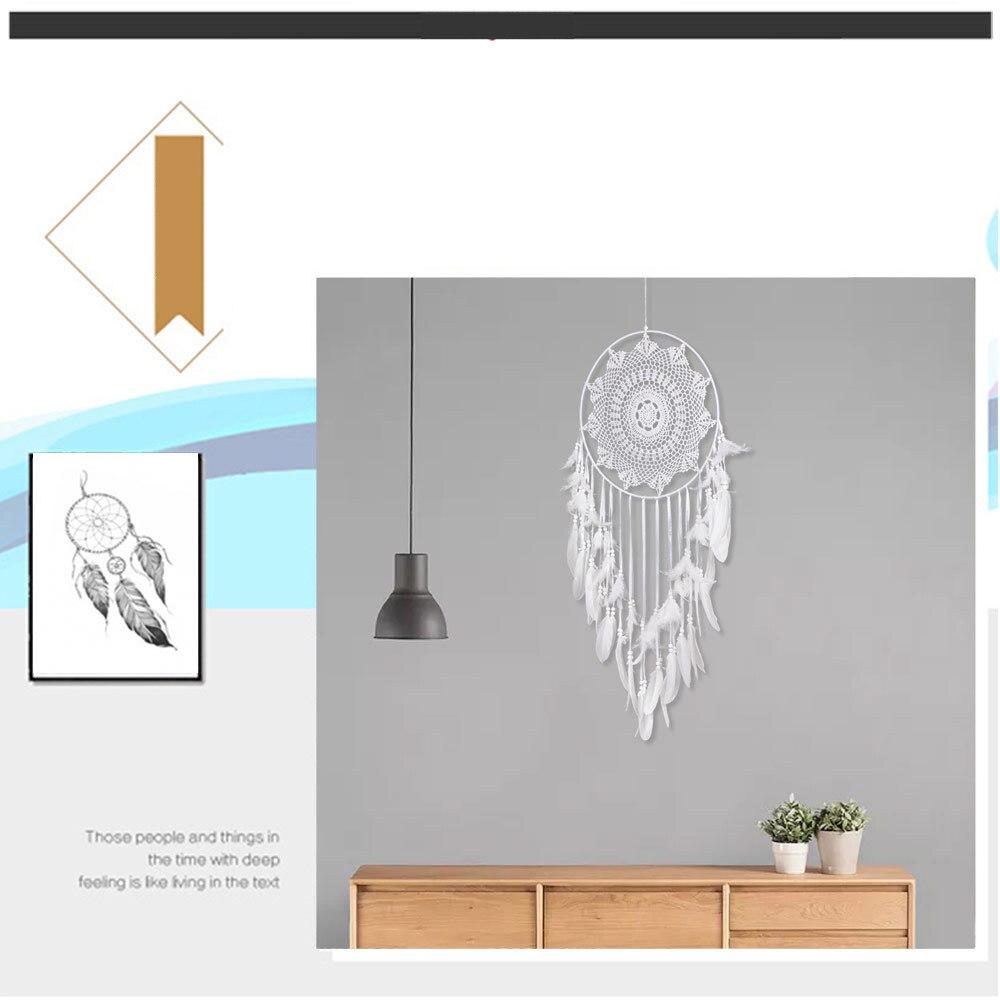 big dream catcher decor for home-nordic decoration home-kids room decoration-wind chimes-dream catchers hanging dreamcatcher new (28)
