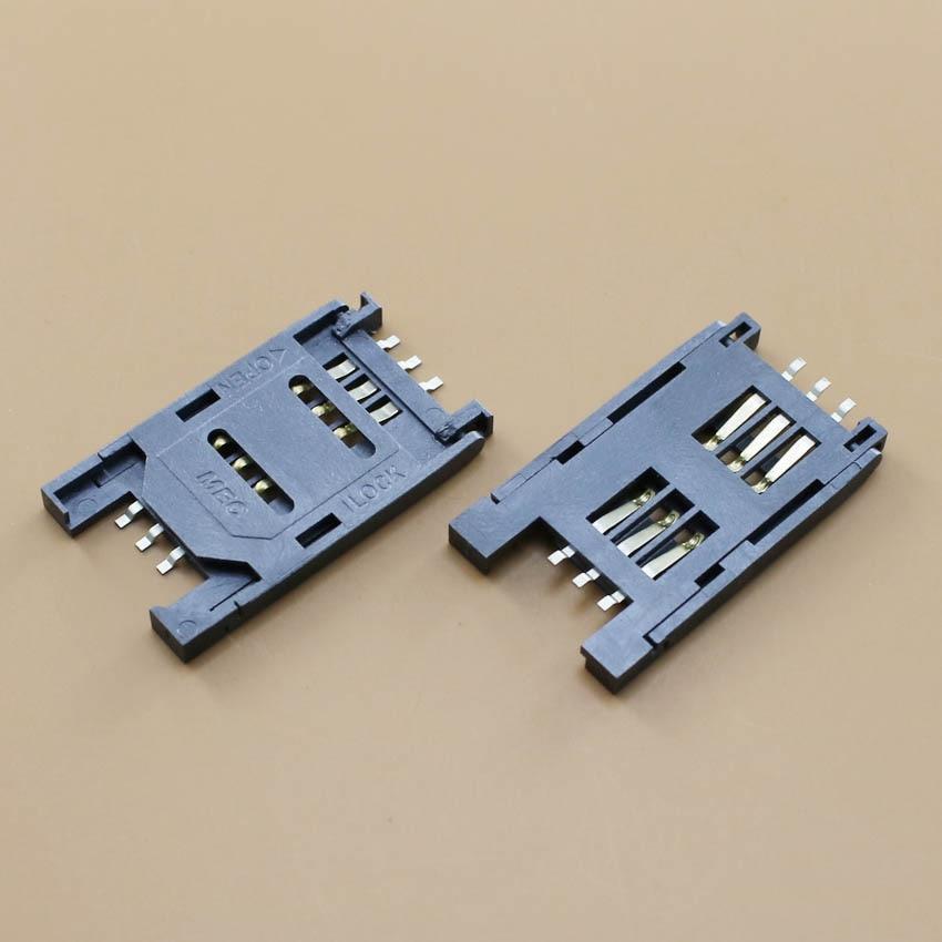 YuXi SIM Card holder 6P SMT TF Memory Card Socket / Slot