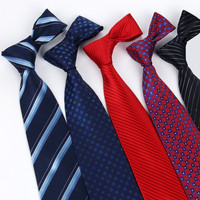 8CM Korean Style Dress Fashion Business Leisure Marriage Career Men S Band Tie Solid Color Best