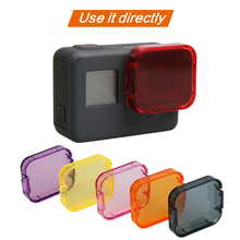 GoPro Hero 5/6/7 Sports Camera Lens Color Filter For HERO5/6/7 Sport Action Professional Colorized