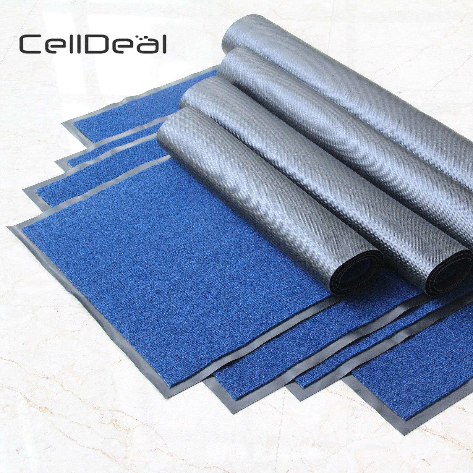 60X180 cm grands et petits tapis porte arrière Hall cuisine robuste tapis de barrière en caoutchouc antidérapant tapis de cuisine tapis de cuisine lavable