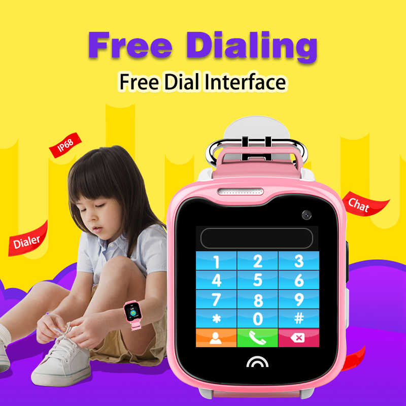 Best GPS Tracker Watch For Children Kids Camera Phone Call SOS Free Tracking Software APP History Playback Anti Lost Locator