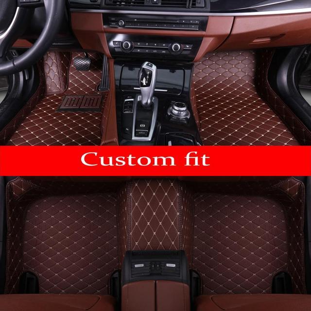 車のフロアマットメルセデスベンツ 463 グラムクラス 280 320 350 500 G320 G350 G500 G55 G63 AMG 車スタイリングカーペット敷物