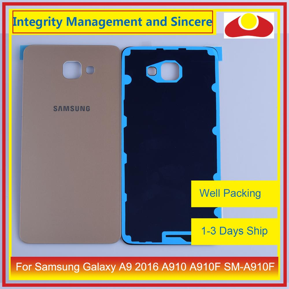Image 5 - Original For Samsung Galaxy A9 Pro A910 A9100 A910F Housing Battery Door Rear Back Cover Case Chassis Shell Replacement-in Mobile Phone Housings & Frames from Cellphones & Telecommunications