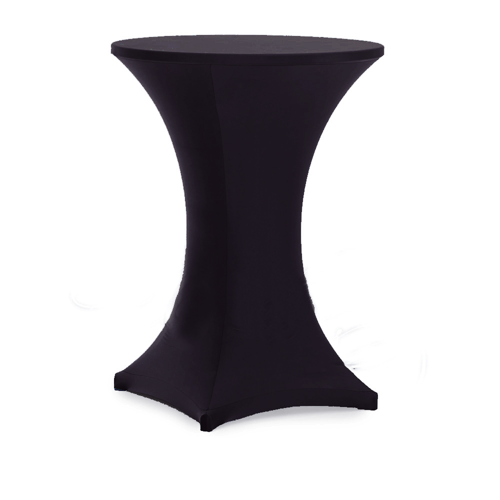 online buy wholesale white cocktail table from china white  - pcs whiteblack round fitted stretch bar table covers spandex lycra cocktailtable covers for