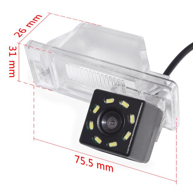 CCD Car Reverse Parking Rear View Camera For Nissan Note 2005-/Juke 2010-/Qashqai 2006-/X-Trail/Pathfinder 2004-14/Patrol-