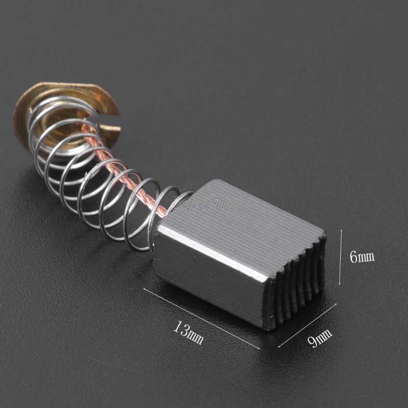 2 قطعة فرشاة الحفر الكهربائية الكربون قطع الغيار ل ديوالت بوش ماكيتا ElectricTool 411 # S18 بالجملة و دروبشيب