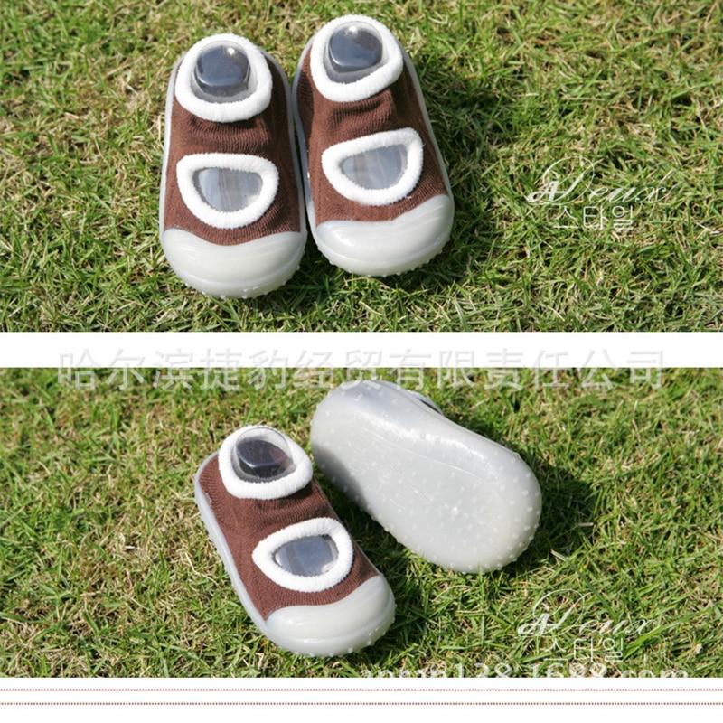 Kidadndy Nyfødte Anti Slip Baby Sokker Baby Girls 'Støvler Sokker - Baby klær - Bilde 2