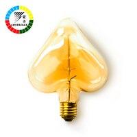 Edison Bulb 40W Retro Vintage E27 Lamp Bulbs Edison Bulbs Heart Star Indoor Oven Light Edison