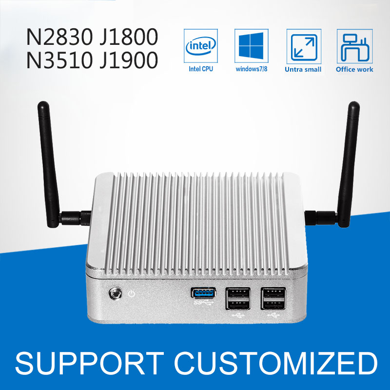 Mini pc Celeron N2840 N2830 J1800 8G RAM 32G SSD Windows10 Mini PC HDMI Laptop Computer fanless mini computer Tablet pc mini pc n2830 n2840 2gb ram 8gb ssd with wifi embedded thin client mini fanless pc support linux os ubuntu