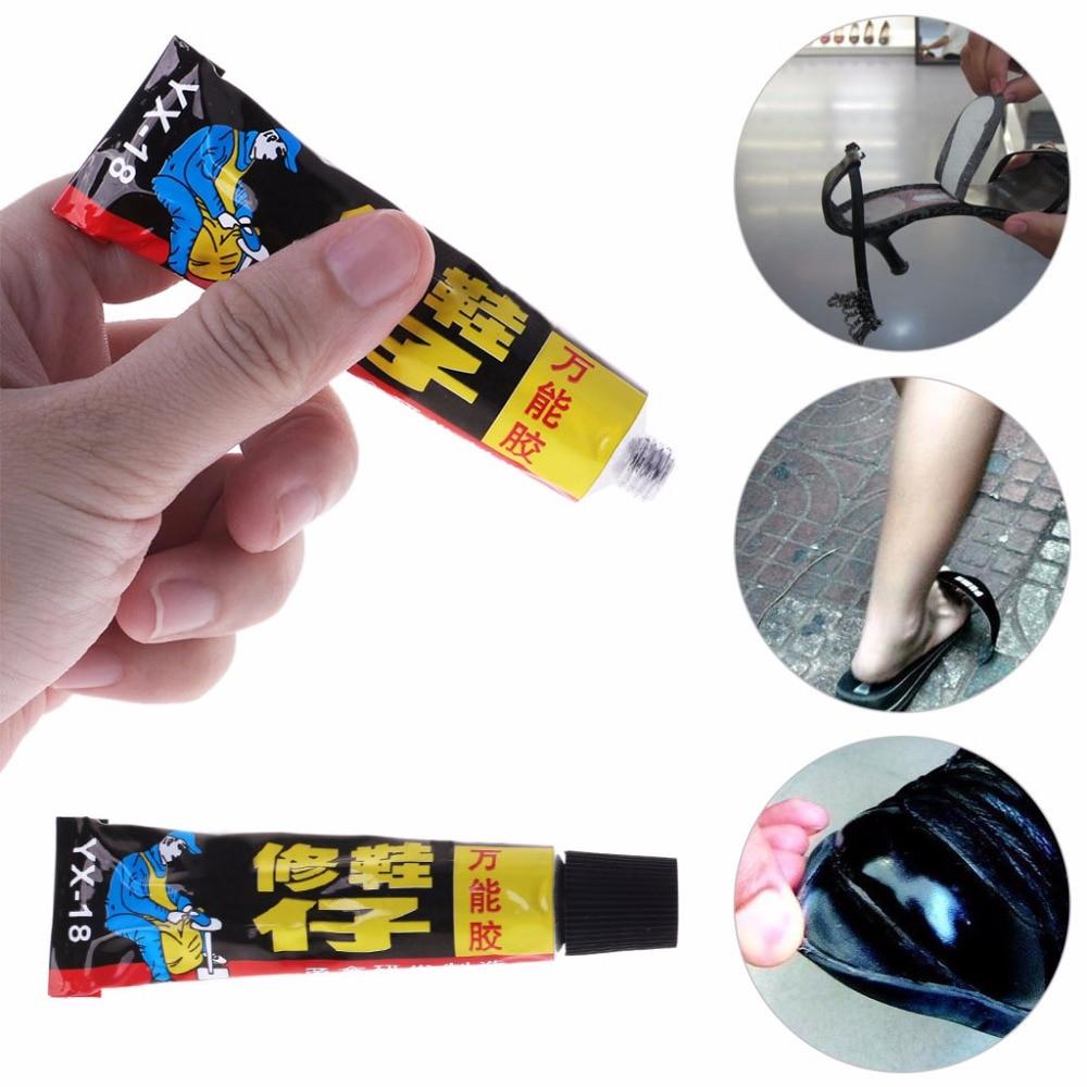 все цены на 18ml Super Adhesive Repair Glue For Shoe Leather Rubber Canvas Tube Strong Bond Cheap