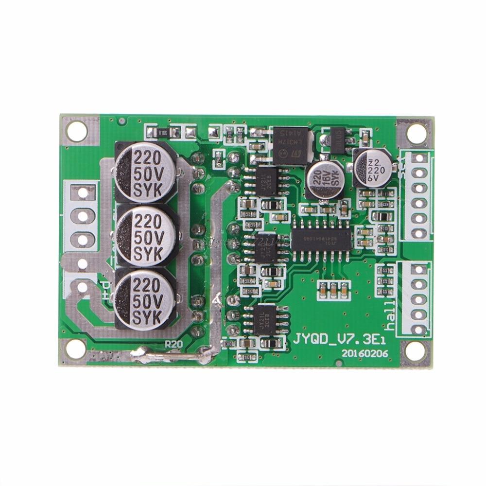 Diy Bldc Motor Driver Circuit: DC 12V 36V 15A 500W Brushless Motor Controller Hall BLDC