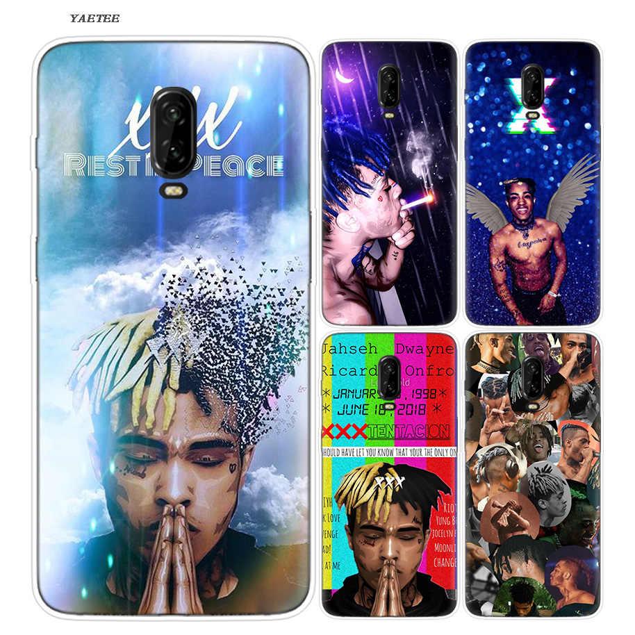 XXXtentacion роскошный силиконовый чехол для телефона OnePlus 7 Pro 6 6T 7Pro 5G Fundas окрашенный чехол с принтом