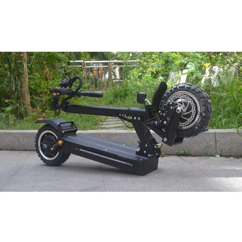 FLJ 11 inch Offroad Elektro-roller Erwachsene 60 V 3200 W Starke leistungsfähige neue Faltbare Elektrische Fahrrad falten hoverboad fahrrad roller