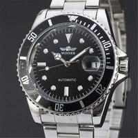승자 망 손목 자동 기계식 시계 남자 탑 럭셔리 시계 비즈니스 육군 시계 스포츠 군사 시계 선물 122