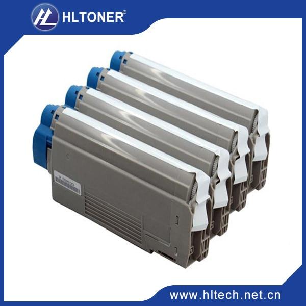 C2032 printer toner cartridge Compatible for OKI CX2032MFP BK/M/C/Y 4PCS/set