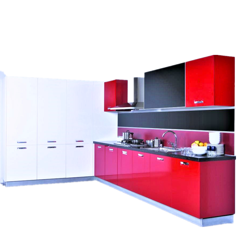 Modern Modular Made In China New Model Kitchen Cabinets-in