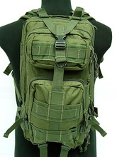 Army Molle Pack 3P Assault Tactical Military Camping Hiking Backpack Bag for Multicamo ACU Tan Desert Tricoor