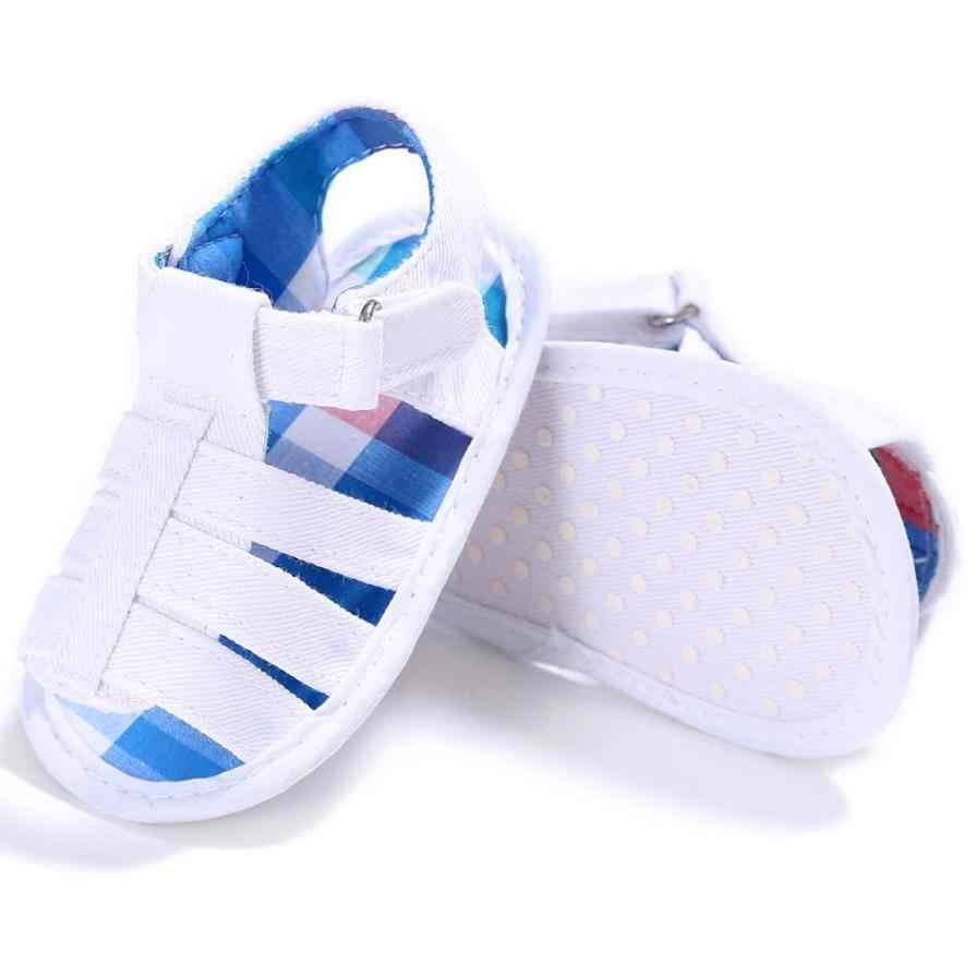 TELOTUNY 2018 letnie dziecko chłopców sandały buty dla niemowląt dzieci dziewczyna chłopcy miękka podeszwa szopka maluch noworodka sandały buty nie -slip