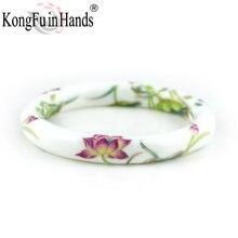 Новые модные дизайнерские винтажные керамические браслеты с
